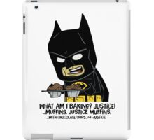 """""""WHO ARE YOU?"""" iPad Case/Skin"""