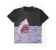 Trippy Shark Graphic T-Shirt