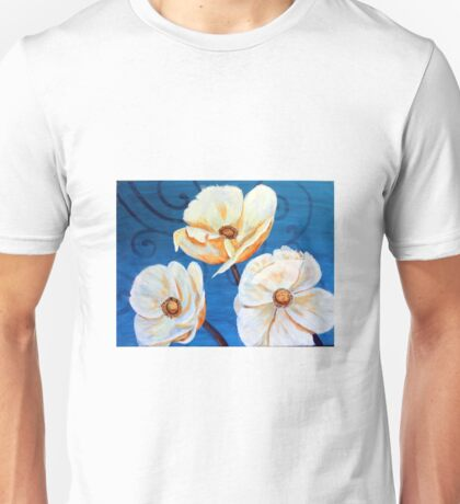 French Flowers Enhanced Unisex T-Shirt