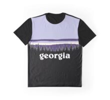 Purple Georgia Graphic T-Shirt