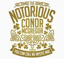 Conor McGregor Crest [GOLD] Kids Tee