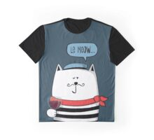 Le Meow... Graphic T-Shirt