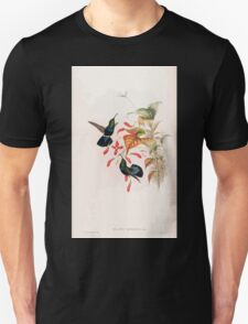 A monograph of the Trochilidæ or family of humming birds by John Gould 1861 V2 182 Elampis Chlorolaemus T-Shirt