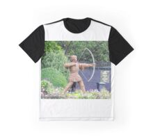 Archer - Wicker Sculpture Graphic T-Shirt