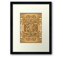 Sing Me A Love Song Opera Garnier Antique Sheet Music Framed Print