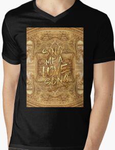 Sing Me A Love Song Opera Garnier Antique Sheet Music Mens V-Neck T-Shirt