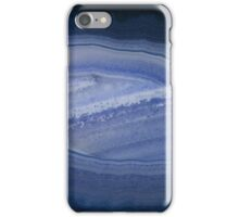 Blue Banded Agate Stone iPhone Case/Skin