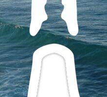 Ocean in my lungs Sticker