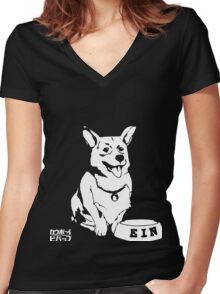 EIN Cowboy Bebop Women's Fitted V-Neck T-Shirt