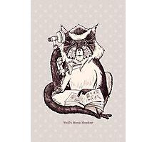 Wolf's Mona Monkey I Photographic Print