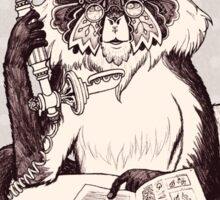Wolf's Mona Monkey I Sticker