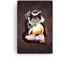Wolf's Mona Monkey II Canvas Print