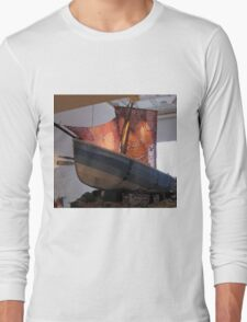 The Knitted Ship Long Sleeve T-Shirt