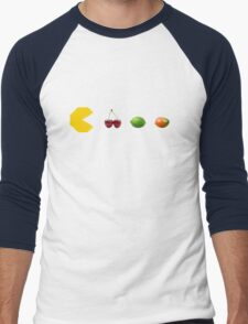 Pacman Fruits Men's Baseball ¾ T-Shirt