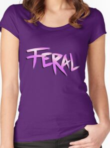Born Feral (Zootopia) Women's Fitted Scoop T-Shirt