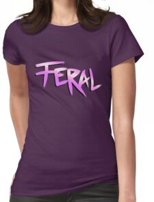 Born Feral (Zootopia) Womens Fitted T-Shirt