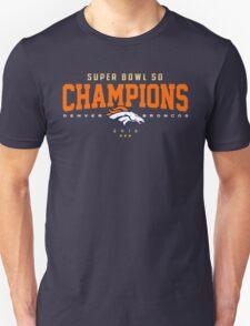 Broncos champions HORZ Unisex T-Shirt