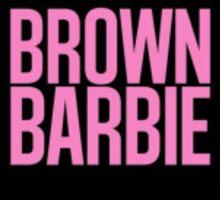 Brown Barbie Sticker