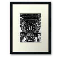 Granville Island bridge Vancouver Framed Print
