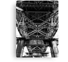 Granville Island bridge Vancouver Canvas Print