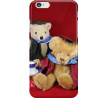 Teatime for the Clever Teds iPhone Case/Skin