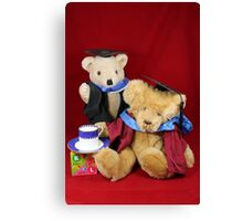 Teatime for the Clever Teds Canvas Print