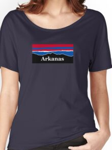 Arkansas Red White and Blue Women's Relaxed Fit T-Shirt