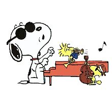 play music group snoopy by monggobuy
