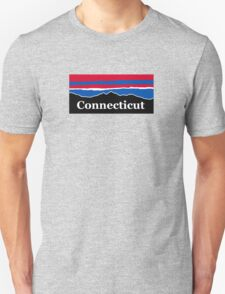 Connecticut Red White and Blue Unisex T-Shirt
