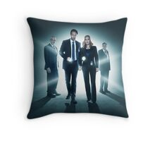 The X-Files (Mini Series Cast Merch) Throw Pillow