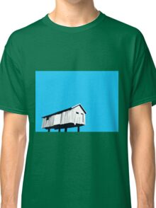 Vancouver Harbour shed on stilts Classic T-Shirt