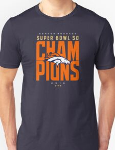 Broncos champions BLUE2 Unisex T-Shirt