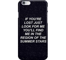 One Direction Walking In The Wind Lyics iPhone Case/Skin