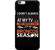 Denver Broncos Super Bowl 50 iPhone Case/Skin