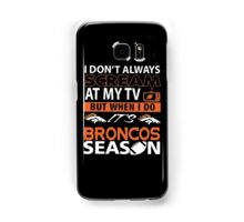 Denver Broncos Super Bowl 50 Samsung Galaxy Case/Skin