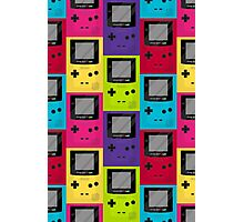 Gameboy Color Pattern Photographic Print