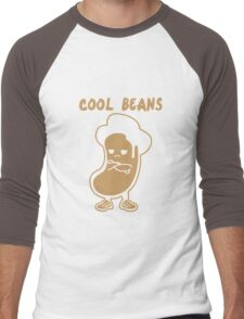 Cool Beans funny nerd geek geeky Men's Baseball ¾ T-Shirt