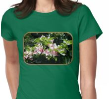Springtime Blooming Dogwood Womens Fitted T-Shirt