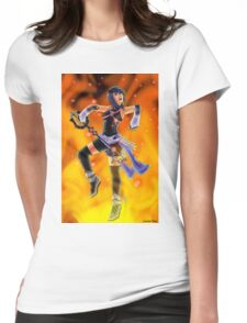 I Am The Fire Womens Fitted T-Shirt