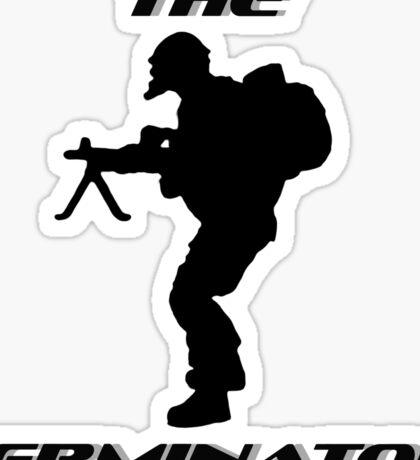 The Terminator by #fftw Sticker