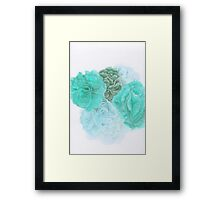 Abstract Color III Framed Print