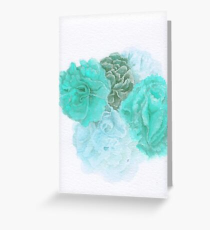 Abstract Color III Greeting Card