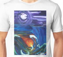 tale of two worlds Unisex T-Shirt