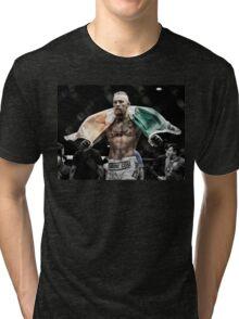 Conor McGregor - Victorious Tri-blend T-Shirt