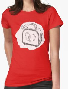 The Edgy, Little, Toaster. Womens Fitted T-Shirt
