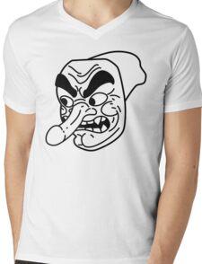 Peengu Mens V-Neck T-Shirt