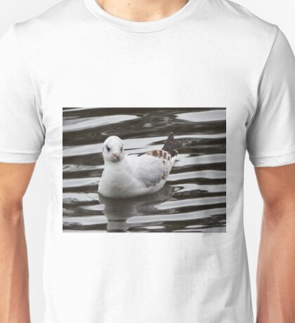 Gull on the water Unisex T-Shirt