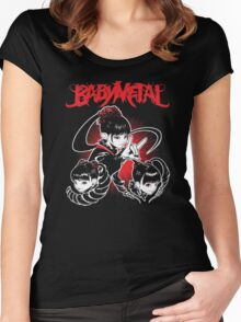 Baby Metal !! Women's Fitted Scoop T-Shirt