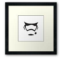 First Order Trooper Framed Print