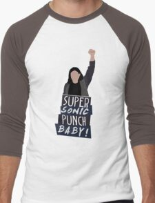 Super Sonic Punch - Cisco Men's Baseball ¾ T-Shirt